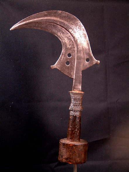 Couteau Mangbetu
